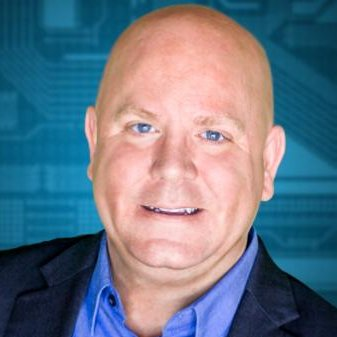 Portrait of James Lewis, Technical Marketing Director, and client of Kevin Dench via IntelliData